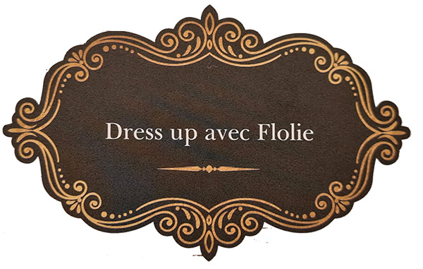 Dress up avec flolie