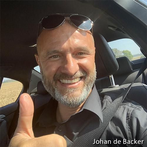 johan de backer administrateur chez weaselpixel agence de création de site internet à Mettet